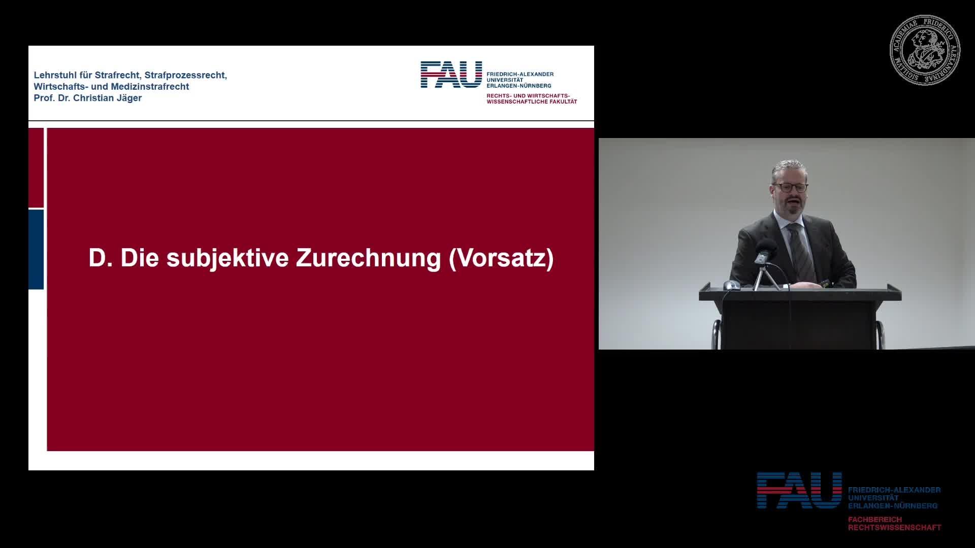Grundkurs Strafrecht I - Einheit 12 preview image