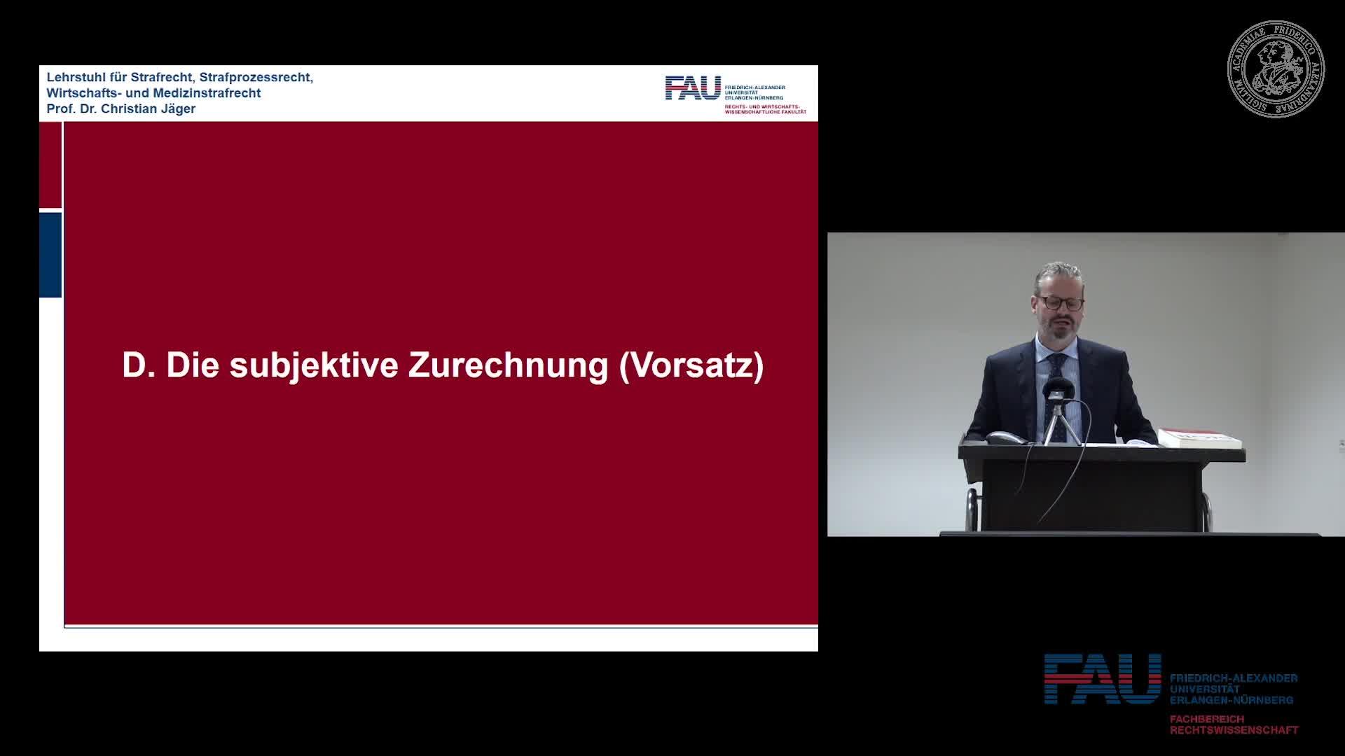 Grundkurs Strafrecht I - Einheit 13 preview image